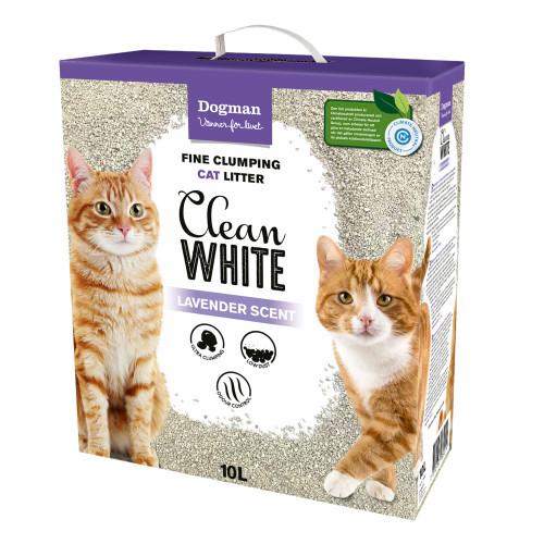 DOGMAN Kattsand Clean White