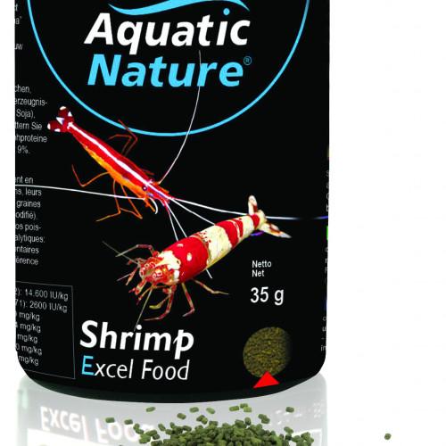 AQUATIC NATURE Räkfoder Shrimp Excel Granulat