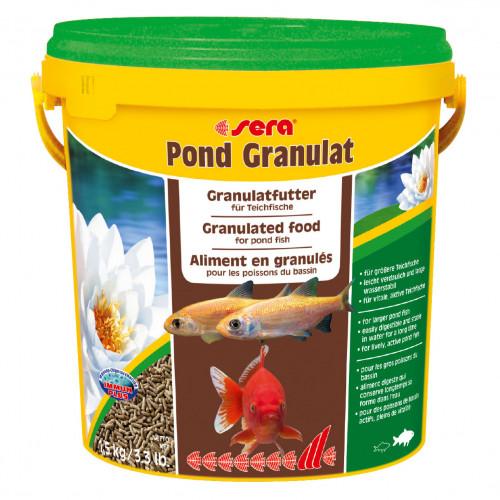 SERA Pond granulat dammpellets