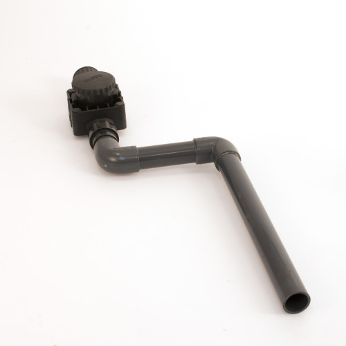 RED SEA Sump valved Downpipe