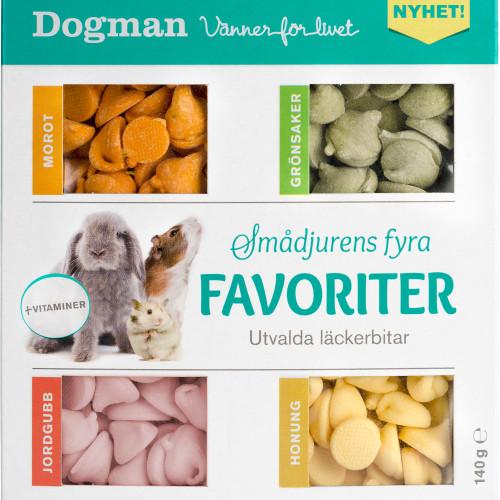 DOGMAN Smådjurens fyra favoriter