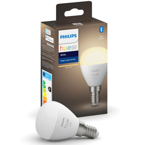 Philips Hue White E14 P45 Klot 1-pack