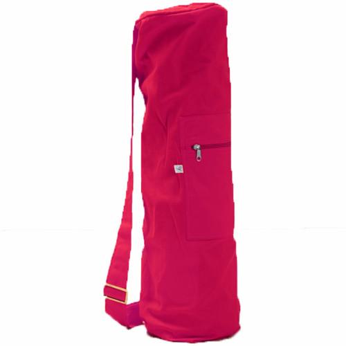 Yogiraj Yoga mat bag Raspberry red
