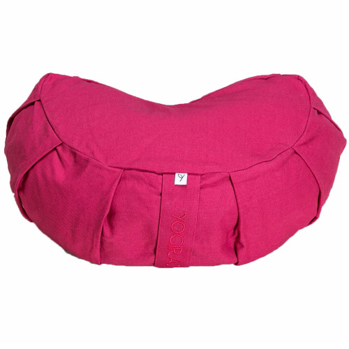 Yogiraj Crescent meditation cushion Ra