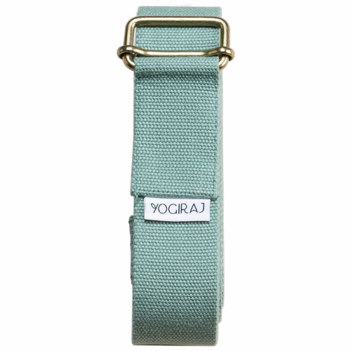 Yogiraj Yoga belt standard 244 cm Moss