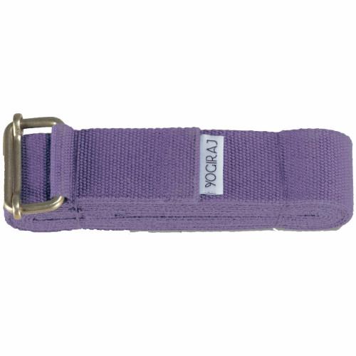 Yogiraj Yoga belt standard 244 cm Lila
