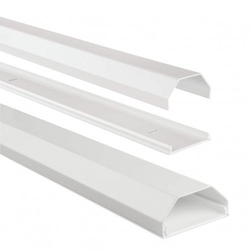 HAMA Kabelkanal Aluminium 110/5/2.6 cm Vit