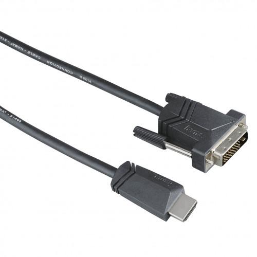 HAMA Kabel HDMI-DVI-D Svart 1.5m