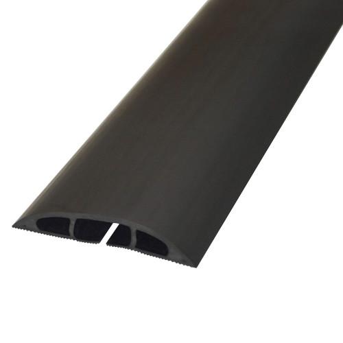D-LINE Kabelkanal Golv PVC Svart 1.8m