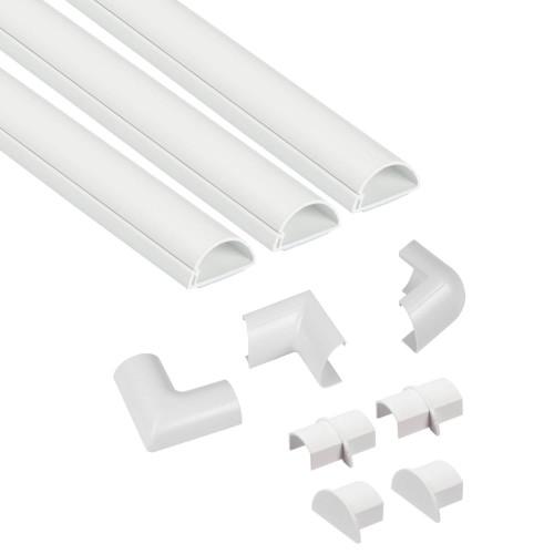 D-LINE Kabelkanal Kit 30x15mm 3x Kabelkanal/Tillbehör 1.0m