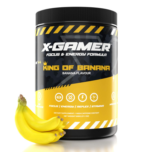 X-GAMER X-Tubz King of Banana 600g