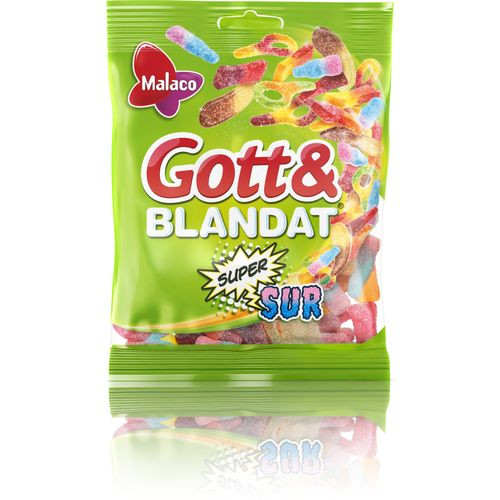 Malaco Gott & Blandat Supersur 130 g