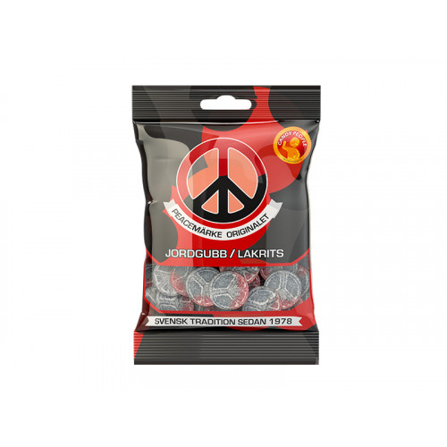 Candy People Peacemärke Jordgubb/Lakrits