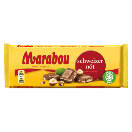 Marabou Marabou Schweizernöt 200 G