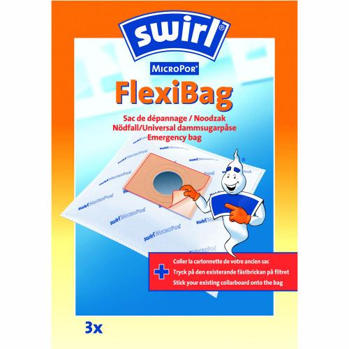 Swirl Dammsugarpåsar SOS Flexibag  3