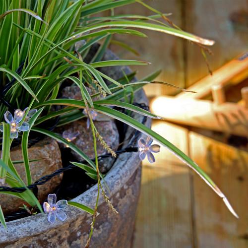 LightsOn Bloom Dekorativ ljusslinga 10m
