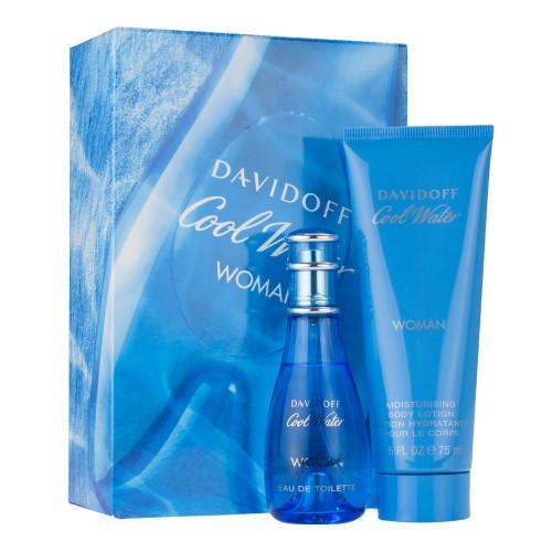 Davidoff Cool Water Woman Edt & Body Lotion