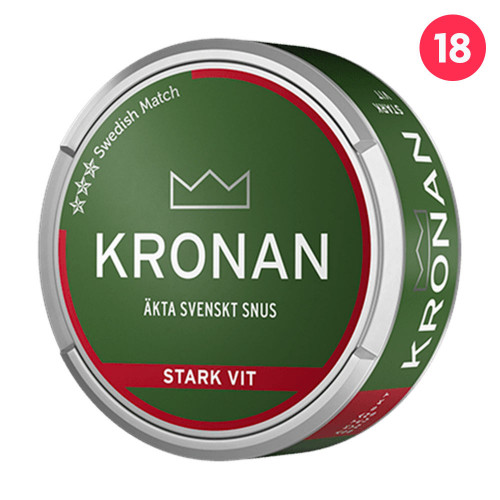 Kronan Stark Vit Portion 10-pack