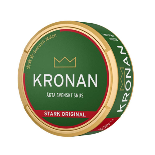 Kronan Stark Original Portionssnus 10-pack