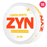 ZYN Slim Lemon Spritz 5-pack