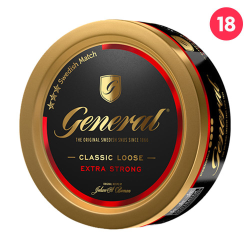 General Extra Strong Lös 10-pack