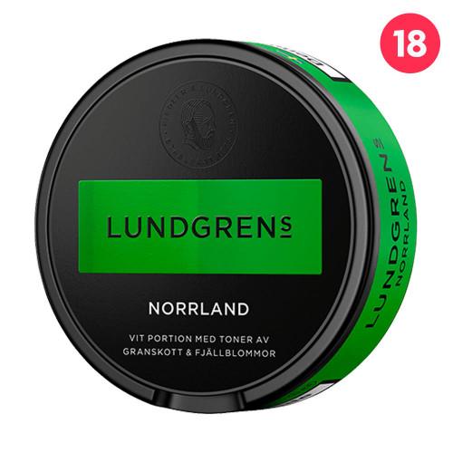 Lundgrens Norrland Vit Portionssnus 10-pack