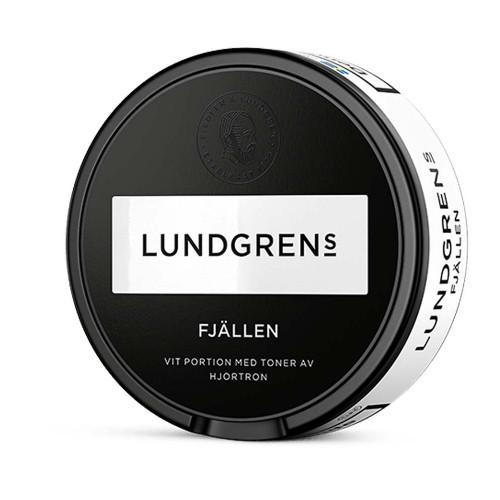 Lundgrens Fjällen Vit Portionssnus 10-pack