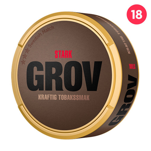 Grov Original Portion Strong 10-pack