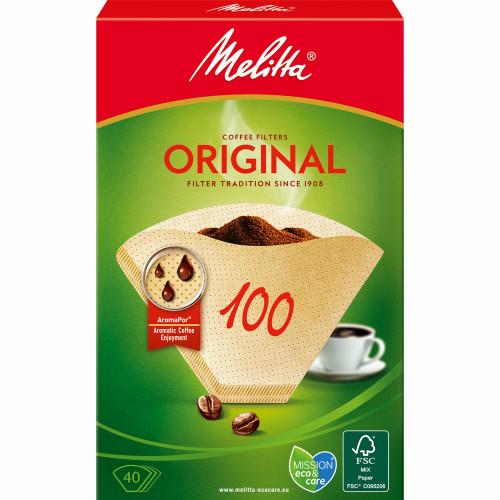 Melitta Kaffefilter 100 40pack  9st DF