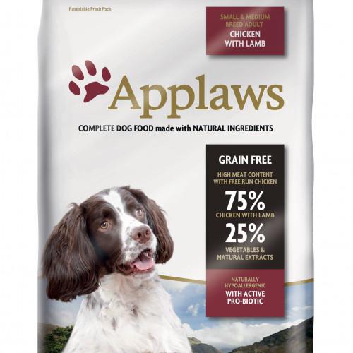 Applaws Applaws Hund Adult Chicken/Lamb Small&Medium 7,5 kg