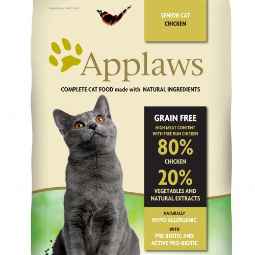 Applaws Applaws katt Adult Chicken Senior 7,5 kg