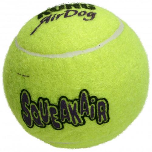 KONG Hundleksak Kong Air Squeaker LargeTennisboll Large, 8 cm