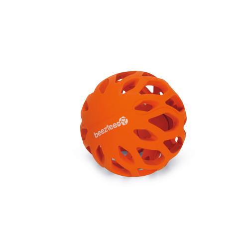 Beeztees Gummi nätboll Orange Beeztees 11 cm