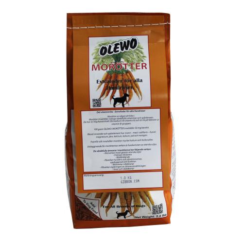 Olewo Olewo morötter Hund 1 kg