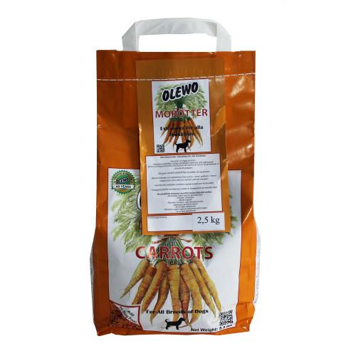 Olewo Olewo morötter Hund 2,5 kg