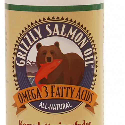 Grizzly Pet Products Fodertillskott Grizzly Laxolja 500 ml