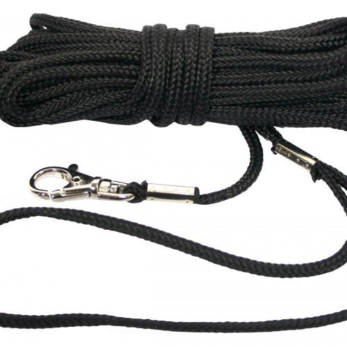 ALAC Kattkoppel Polyester Alac svart 8 m