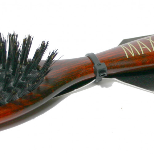 MaxiPin Borste Äkta Vildsvin gles Oval Maxipin 185x50mm