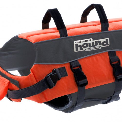 Outward Hound Flytväst Orange M Outward Hound 78cm , 14-25kg