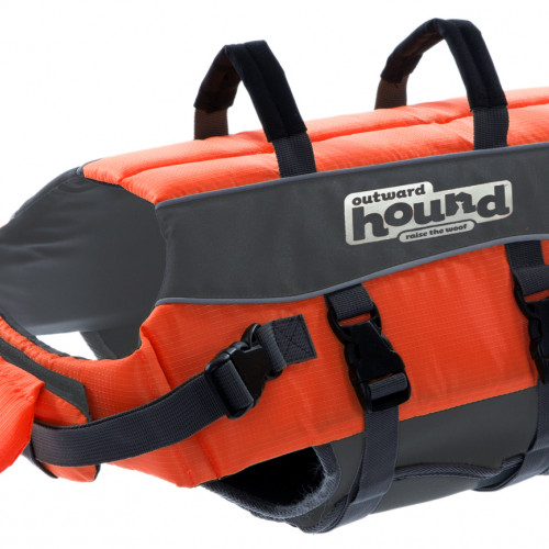 Outward Hound Flytväst Orange L Outward Hound 91cm, 25-39kg