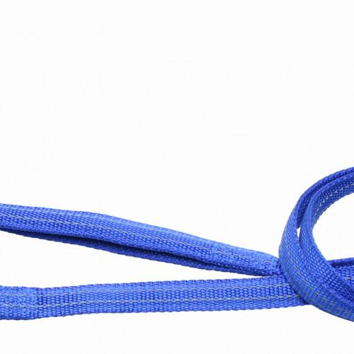 Gibbon Koppel nylon reflex Blått Gibbon 10mm/180cm