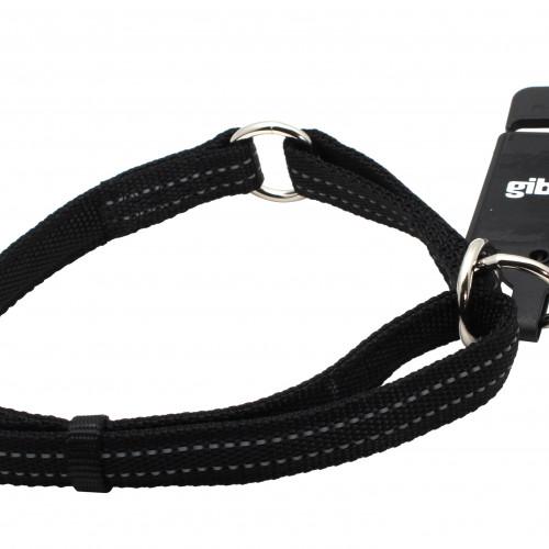 Gibbon Halvstryp nylon reflex ställbart Svart Gibbon 15mm/25-45cm