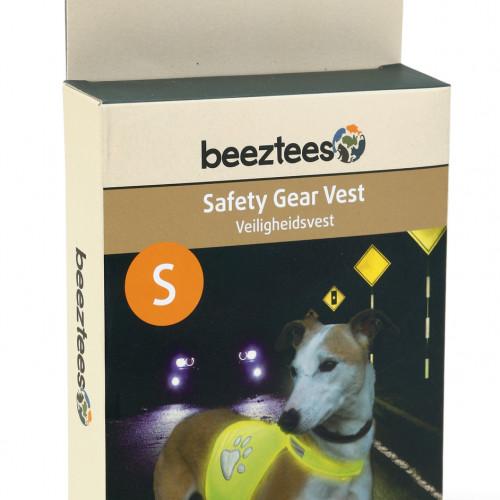Beeztees Reflexväst gul för hund Beeztees Small