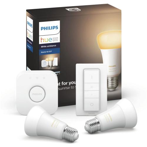 Philips Hue Startkit White Ambiance 2x