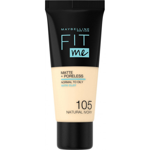 Maybelline Fit Me Matte + Poreless Foundation - 105 Natural Ivory