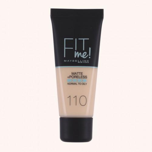 Maybelline Fit Me Matte + Poreless Foundation 30 ml - 110 Porcelain