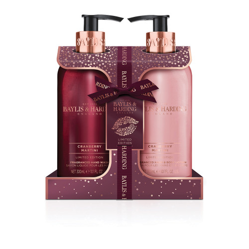 Baylis & Harding Luxury Hand Care giftset - Cranberry Martini