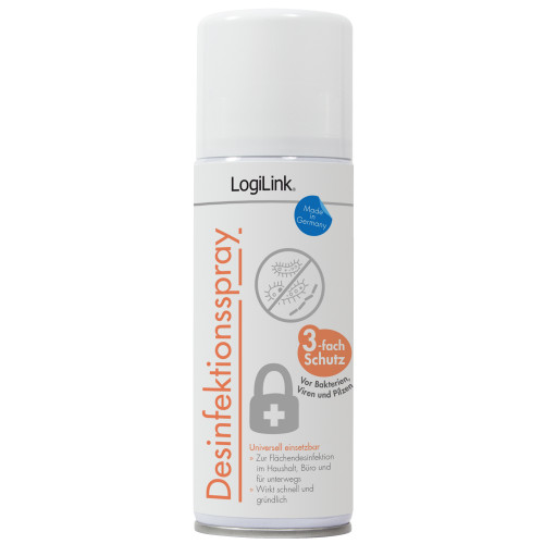 LogiLink Ytdesinfektionsspray 200ml