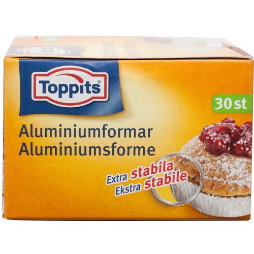 Toppits Bakformar Aluminium 30st (Obs