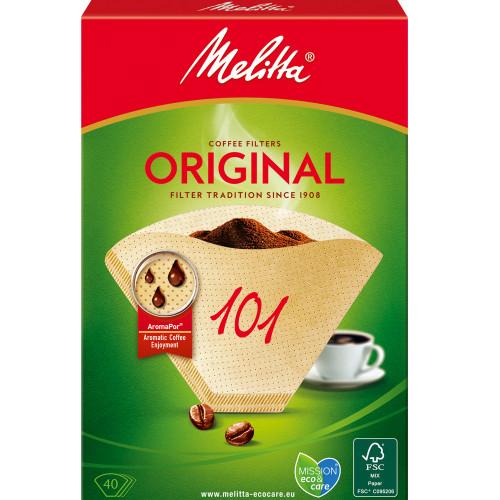 Melitta Kaffefilter 101 40pack (Obs 9s